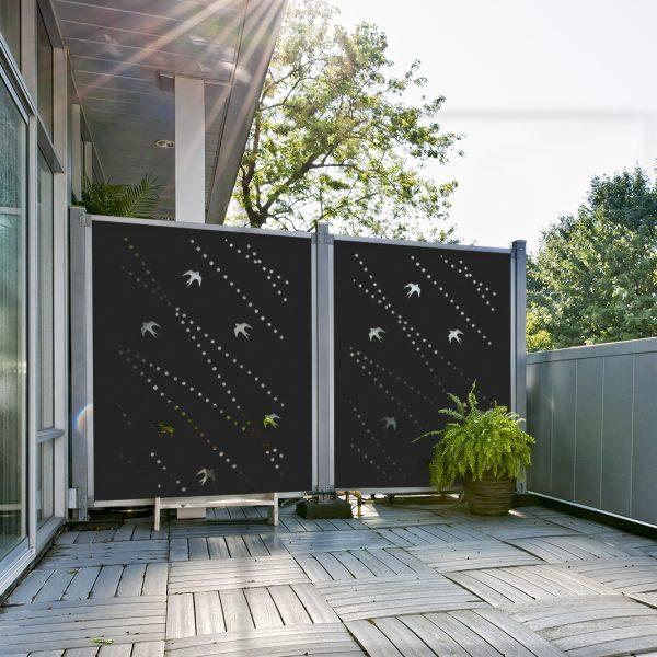 Panneaux d coratifs ext rieurs pour toute intimit - Panneaux de separation pour exterieur ...
